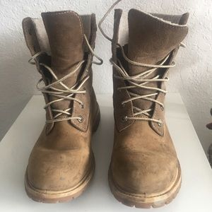W/S7 Timberland Teddy Waterproof Tan/Suede Boots